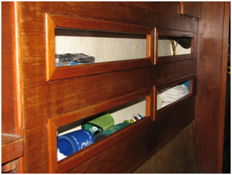 """The Galley, Small Cubby Holes"""