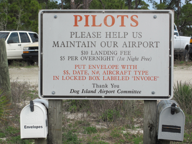 Dog Island Airport Fund Raising
