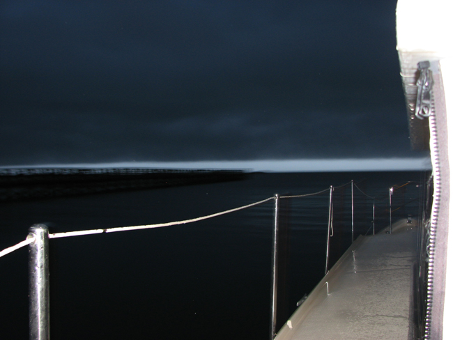 Storm Hiting Apalachicola