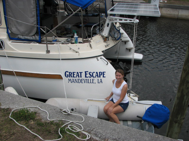Roxanne finished with the boat name