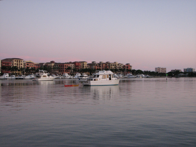 Anchored in Smokehouse Bay on Marco Island