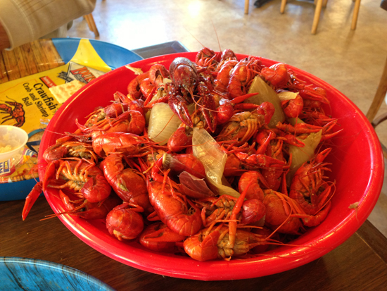 Crawfish at Orlando's