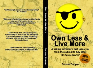own less and live more - book cover